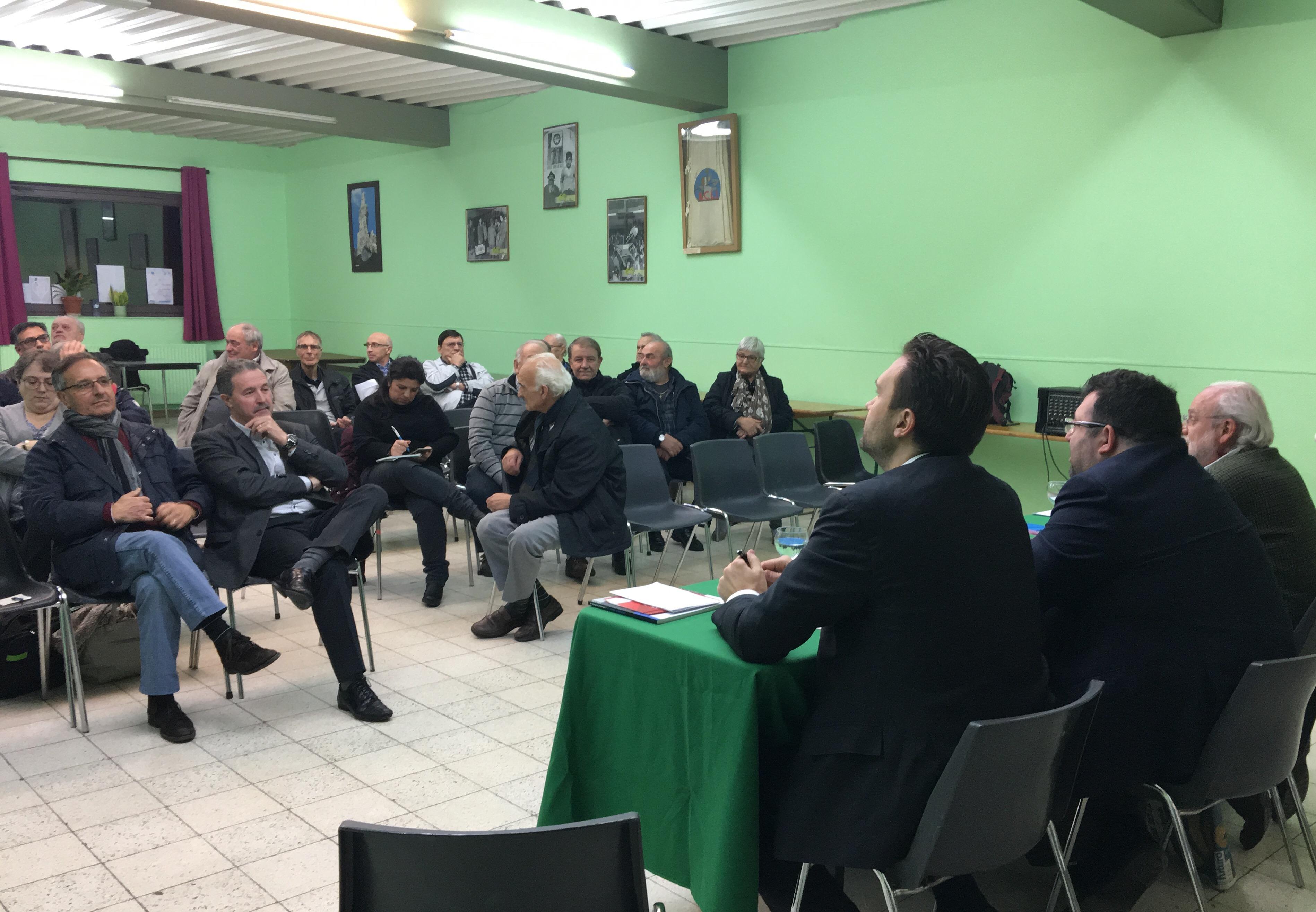 Incontro su referendum riforma costituzionale - Charleroi