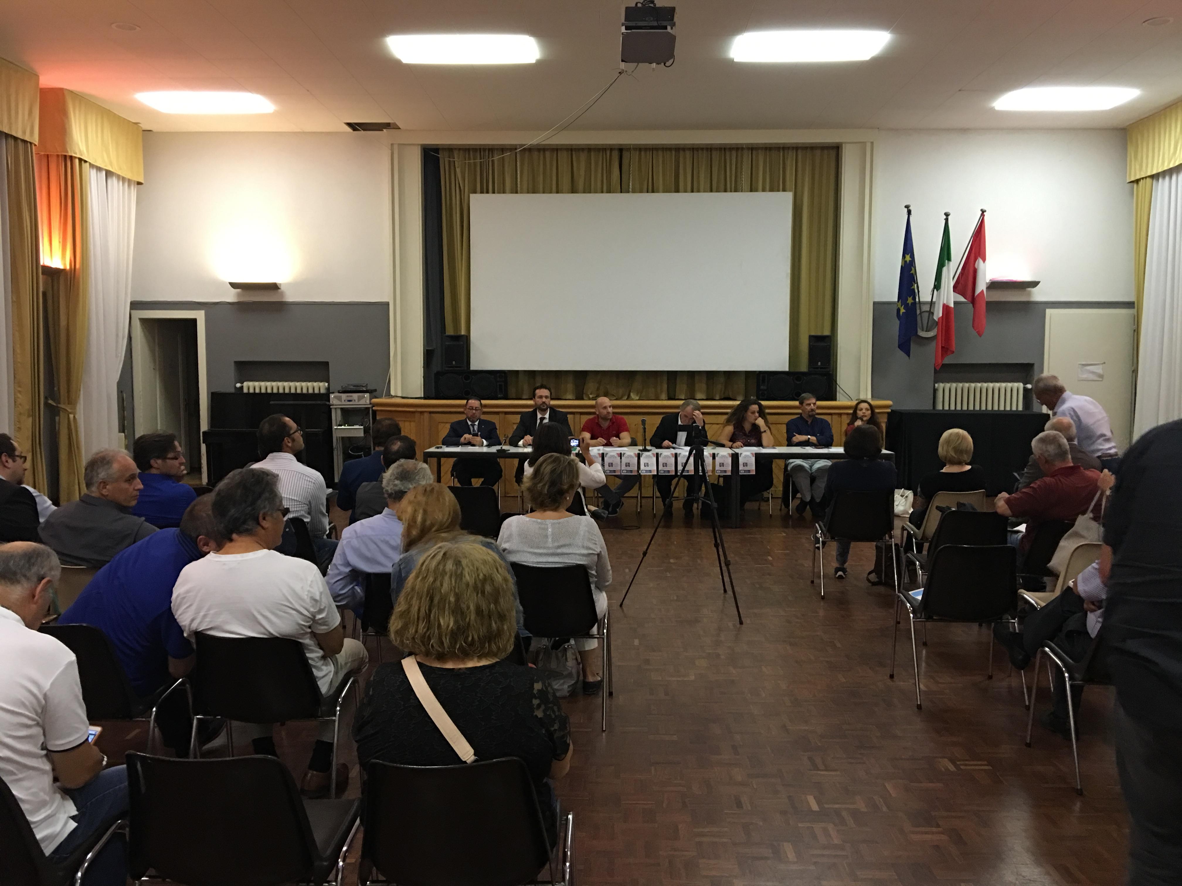 Incontro su referendum riforma costituzionale - Zurigo