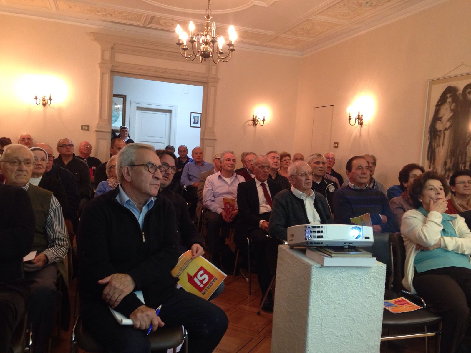 Incontro su referendum riforma costituzionale - Lucerna