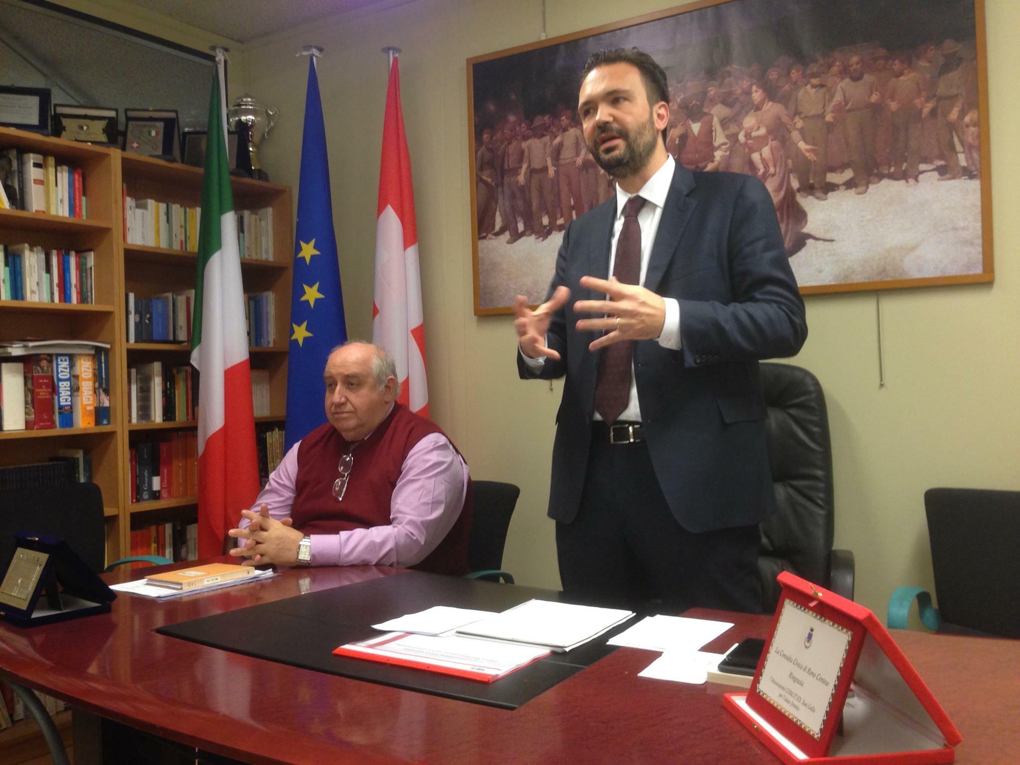Incontro su referendum riforma costituzionale - San Gallo