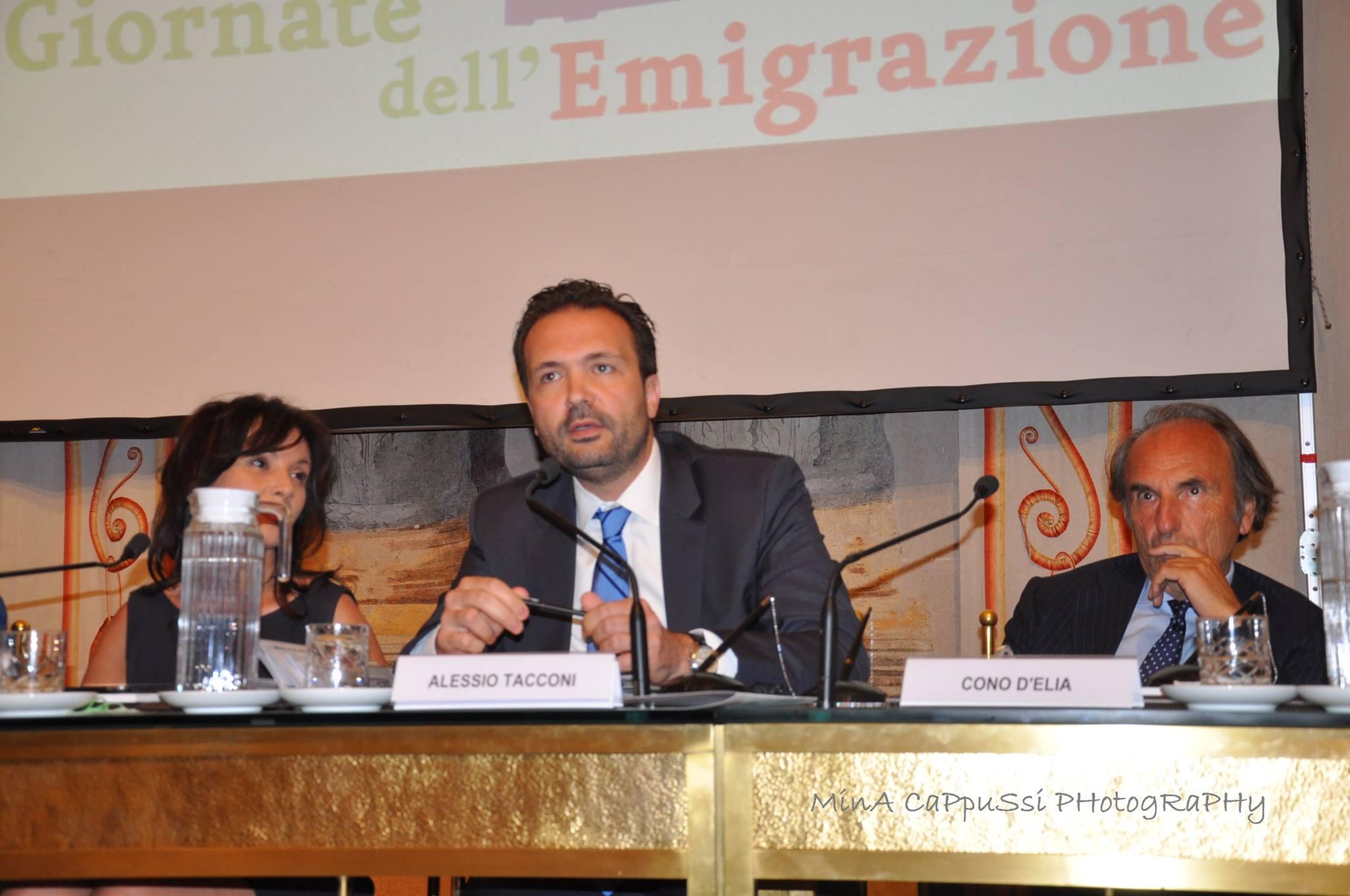 Intervento alle giornate dell'emigrazione ASMEF - Roma