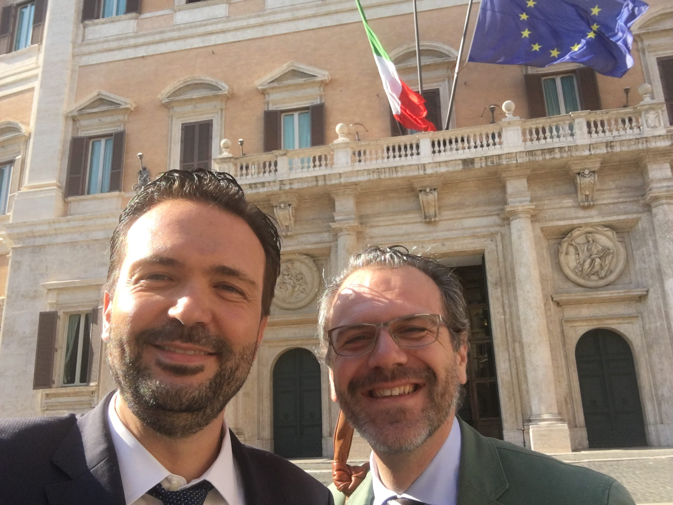Incontro con Ernesto Pravisano - Presidente Comites Olanda - Roma